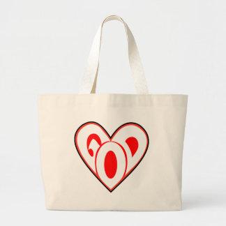 Dios del corazón bolsa de mano
