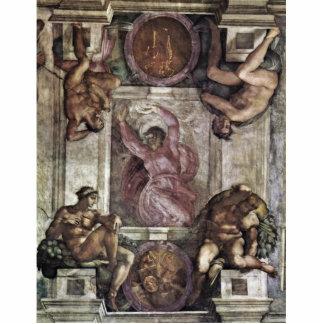 Dios del creador, y cuatro juventudes de Miguel Án Escultura Fotográfica