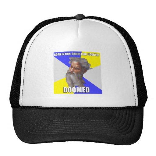 Dios del duende condenado gorras de camionero