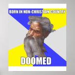 Dios del duende condenado poster