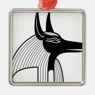 Dios del egipcio de Anubis Adorno De Navidad