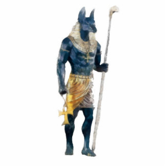 Dios del egipcio de Anubis Esculturas Fotograficas