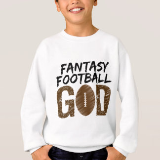 dios del fútbol de la fantasía sudadera