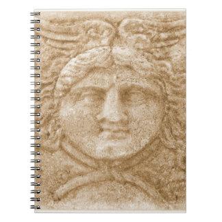 Dios del Griego de Hermes Libretas