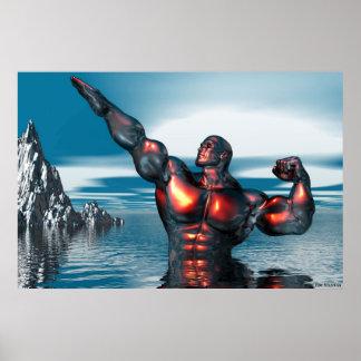 dios del mar póster
