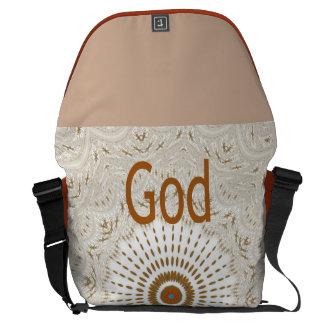 Dios del matata de Hakuna bendice el bolso Bolsas De Mensajeria