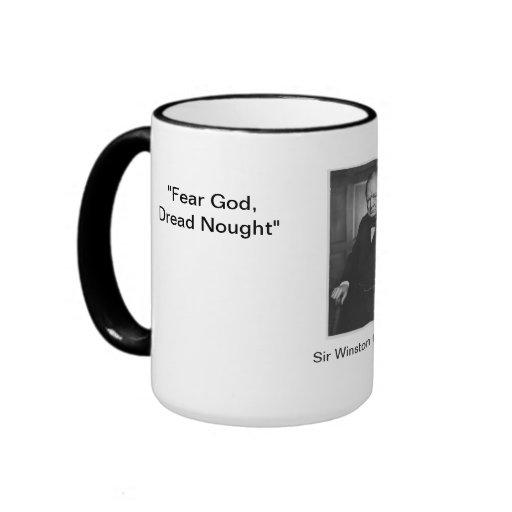 Dios del miedo, nada de Dred - taza de la cita de