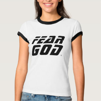 Dios del miedo playera