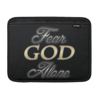 Dios del miedo solo fundas MacBook