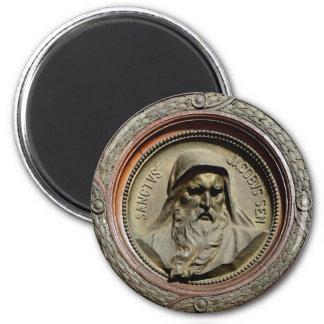 dios del retrato de la religión de Jacob del santo Imán Redondo 5 Cm