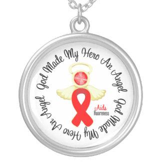 Dios del SIDA hizo mi héroe un ángel Grimpola Personalizada