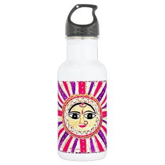 Dios del sol hindú de Surya Botella De Agua