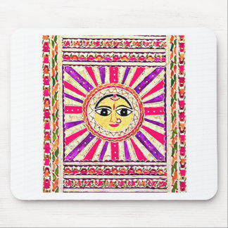 Dios del sol hindú de Surya Tapetes De Ratón