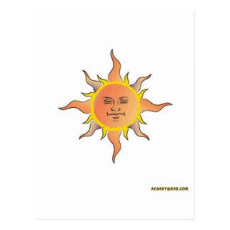 Dios del sol postales