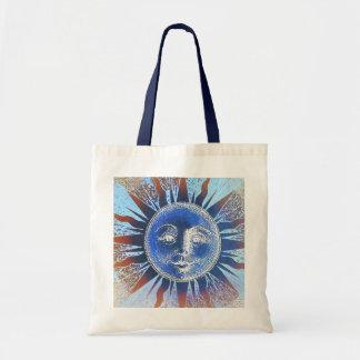 Dios del sol Sun hace frente a los regalos Bolsas Lienzo