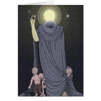 dios del sol tarjeta