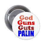 Dios dispara contra la tripa Palin Pin