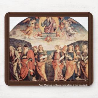 Dios el padre con el profeta y la sibila tapete de raton