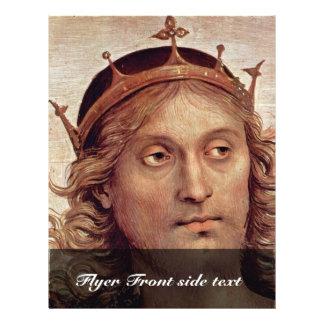 Dios el padre del profeta y sibila detalla folleto 21,6 x 28 cm