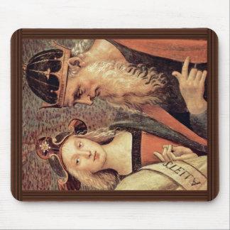 Dios el padre del profeta y sibila detalla alfombrilla de raton