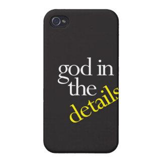 """""""Dios en los detalles """" iPhone 4/4S Carcasas"""
