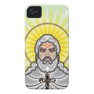 Dios enojado carcasa para iPhone 4 de Case-Mate