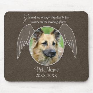 Dios envió un personalizado de la condolencia del  mouse pad