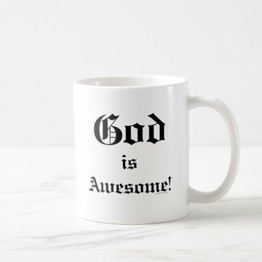 Dios es 2 impresionantes taza