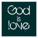 Dios, es, amor posters