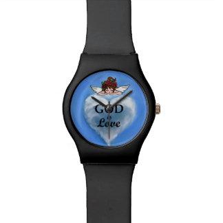 Dios es amor relojes