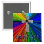 """""""Dios es botón de la cruz del rezo"""" del señor TAN"""