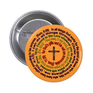Dios es buen botón pin