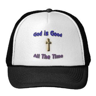 Dios es buen gorra