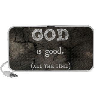 Dios es buen… todo el tiempo cristiano de encargo altavoces