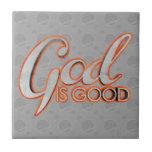 Dios es buena teja