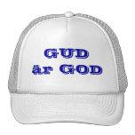 Dios es bueno en SUECO Gorro De Camionero