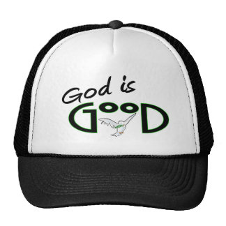 Dios es bueno gorra