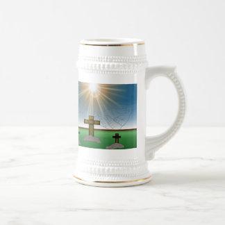 Dios es conmigo taza del stein