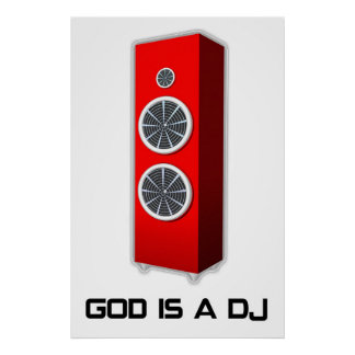 Dios es DJ Poster