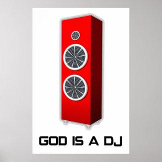 Dios es DJ Póster