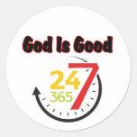 Dios es el buen pegatina 247