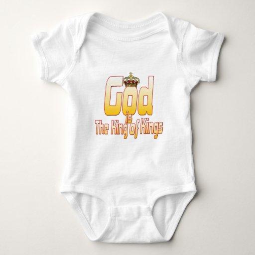 Dios es el rey de reyes body para bebé