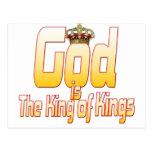 Dios es el rey de reyes postales