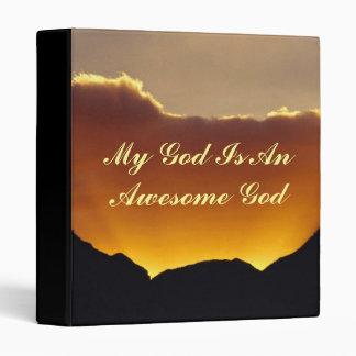 Dios es impresionante - carpeta multiusos