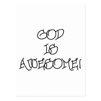 Dios es impresionante postales