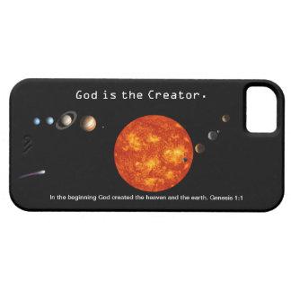 Dios es la Sistema Solar del creador - iPh Funda Para iPhone 5 Barely There