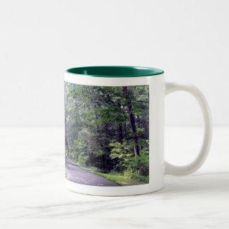 Dios es: (Los árboles dicen ah!!!) - taza