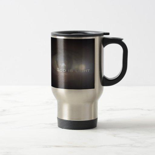 Dios es luz tazas de café