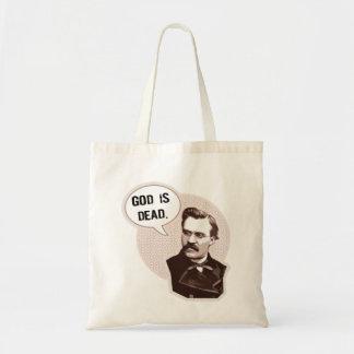 Dios es muerto (Nietzsche) Bolsas