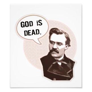 Dios es muerto (Nietzsche) Fotografía
